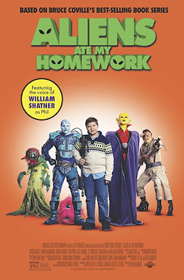 Aliens Ate My Homework 2018 Custom HDRip NTSC Latino