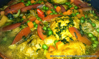 Chicken with Turmeric, Cumin and Vegetables