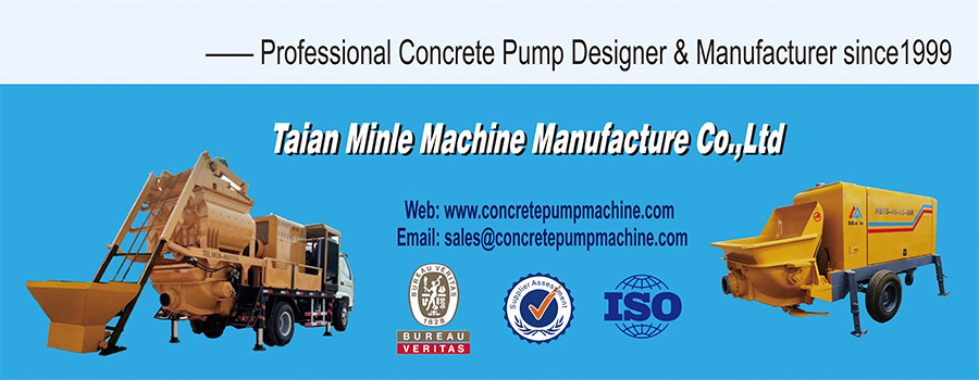 concrete pump machine - Minle Machinery