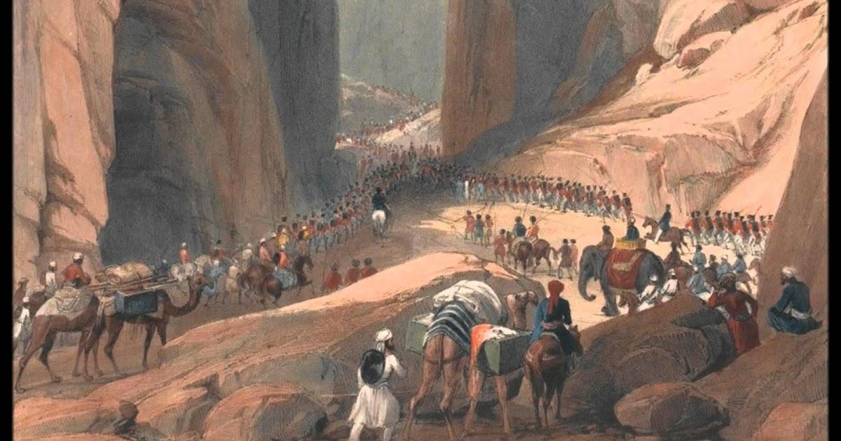 La prima guerra angloafgana e l'inizio del Grande Gioco