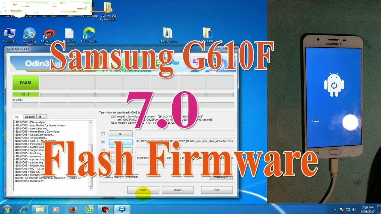 GSM SHEBA LALMONIRHAT BANGLADESH: SAMSUNG J7 Prime SM-G610F Flash