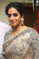 Sri Devi in designer saree stunning beauty at the launch of MOM movie Trailer~  Exclusive 147.JPG