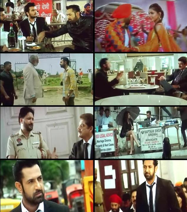 Kaptaan 2016 Punjabi DVDScr