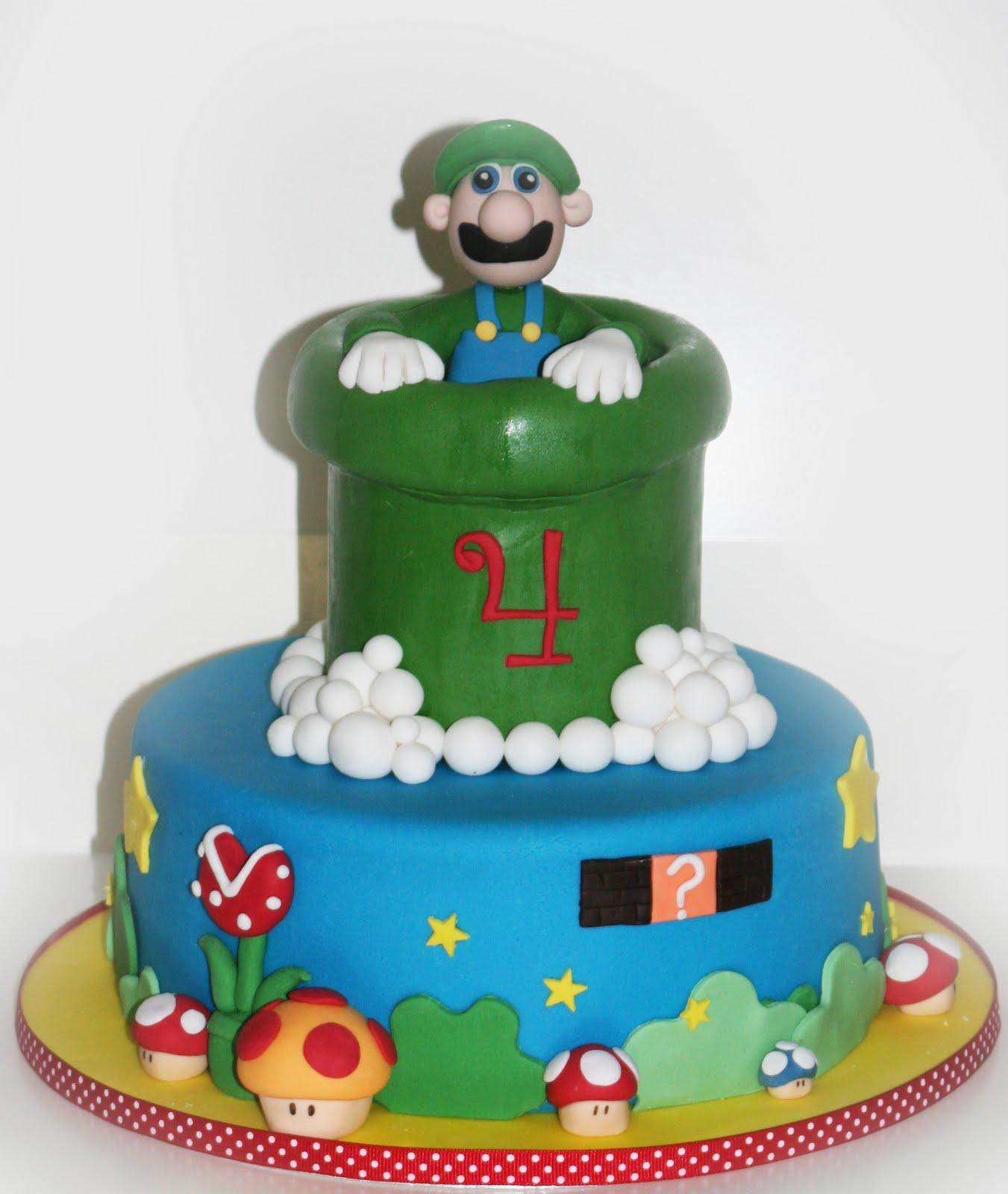 Cravings Cakes Cupcakes And Cookies Super Luigi Cake