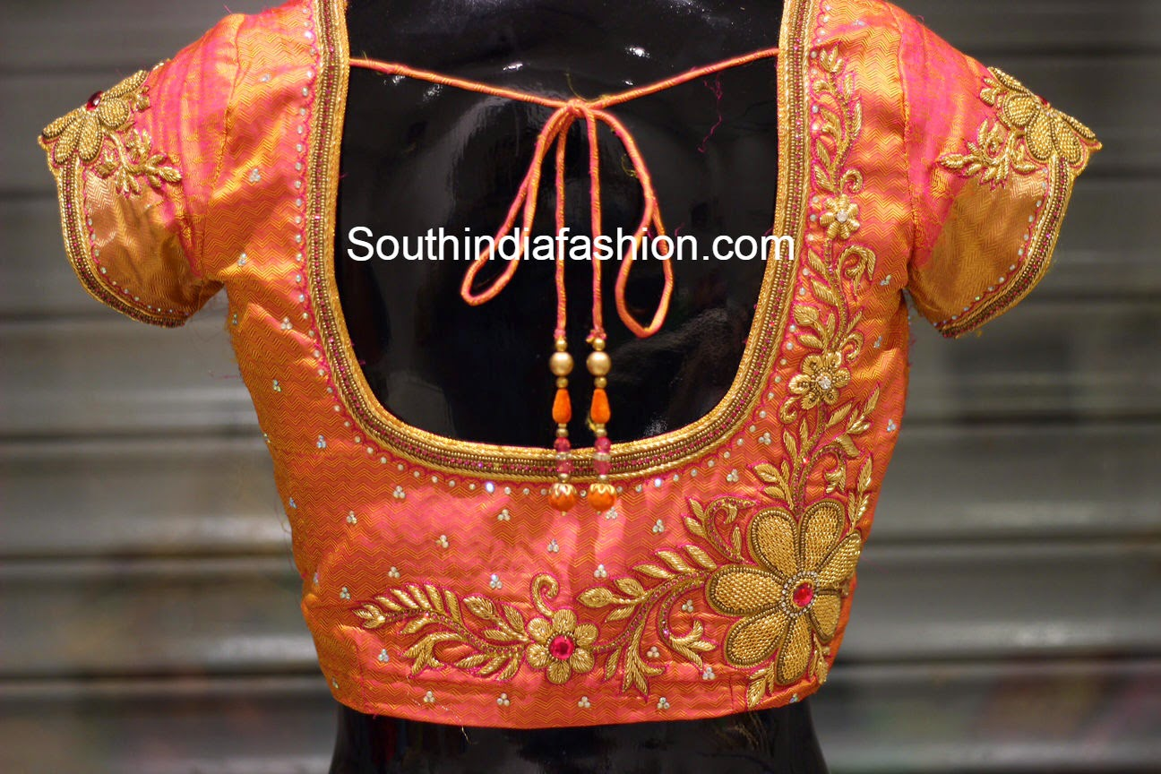 Bridal Saree Blouses Fashion Trends Page 18 Of 39 South