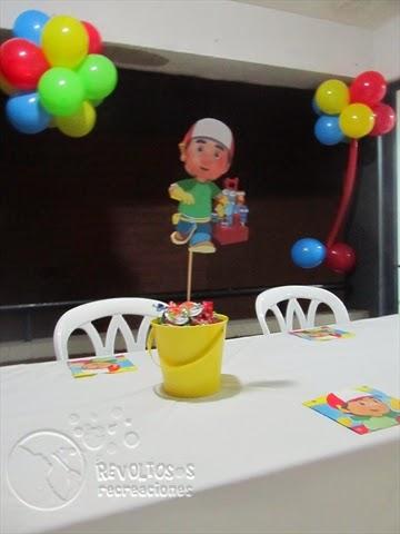 DECORACION MANI A LA OBRA FIESTA INFANTIL