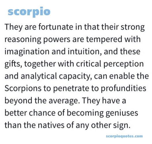 Scorpio Traits #023 | Scorpio Quotes