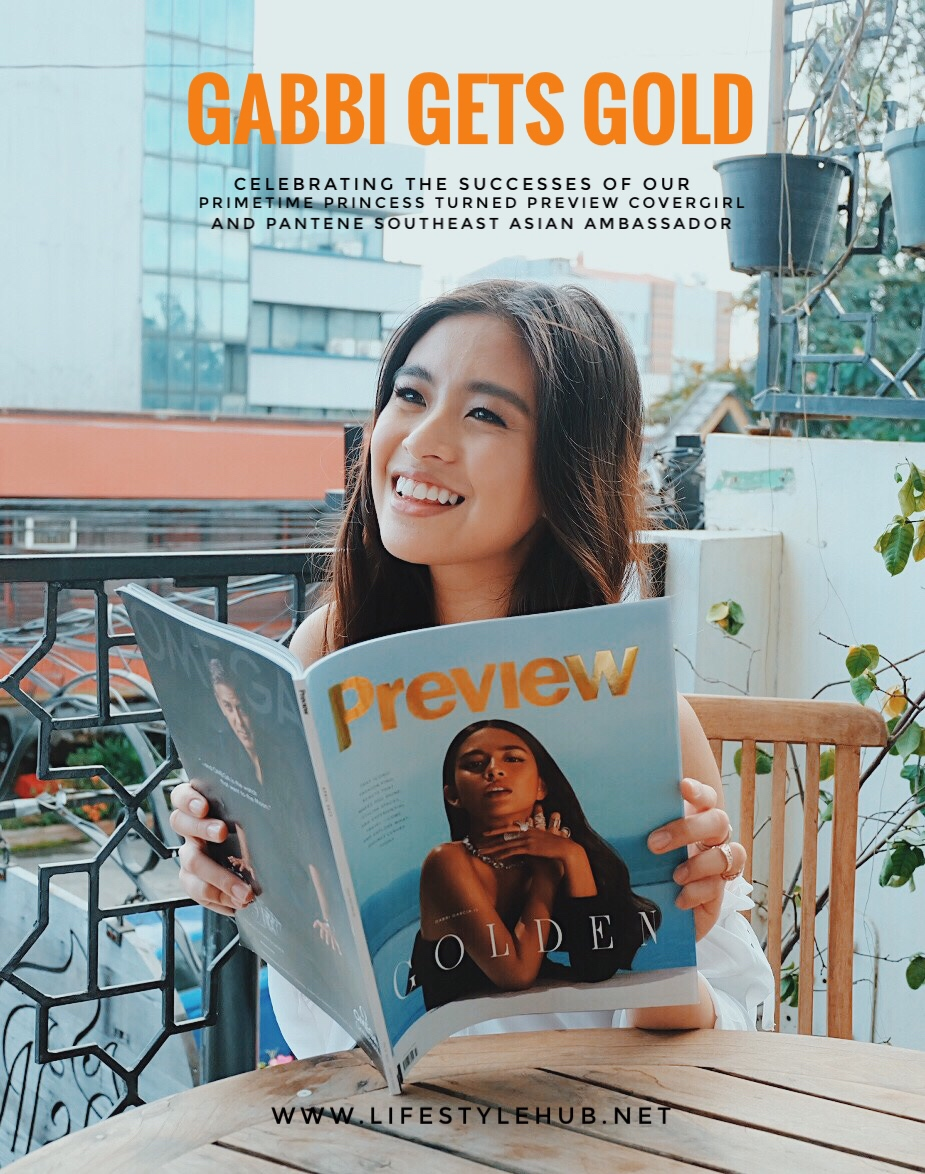 the lifestyle hub gabbi garcia for pantene and preview magazine