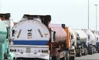 A THREATEN FROM A TANKER DRIVERS TO BOYCOTT JEBBA-MOKWA ROAD