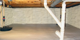 Crawl Space - Delmarva Insulation