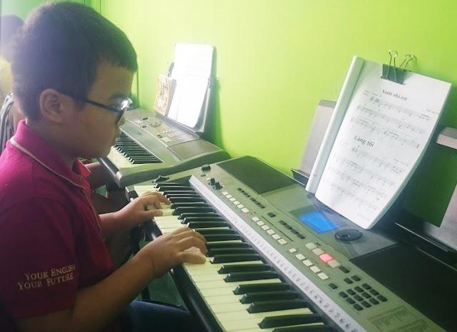 Lớp học đàn Organ cho thiếu nhi tại quận Bình Thạnh TP HCM