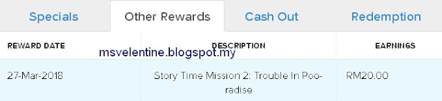 Reward 8Share-Story Time Mission 2: Trouble In Poo -Radise