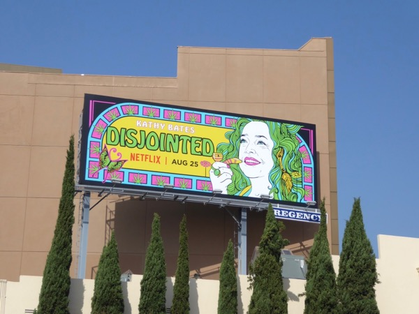 Disjointed series premiere billboard