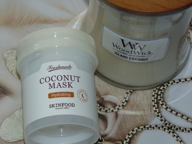 Freshmade Coconut Mask - maseczka marki SKIN FOOD