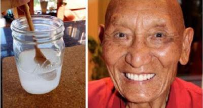 Dents blanches et fortes jusqu'à la vieillesse: Recette naturelle des moines tibétains