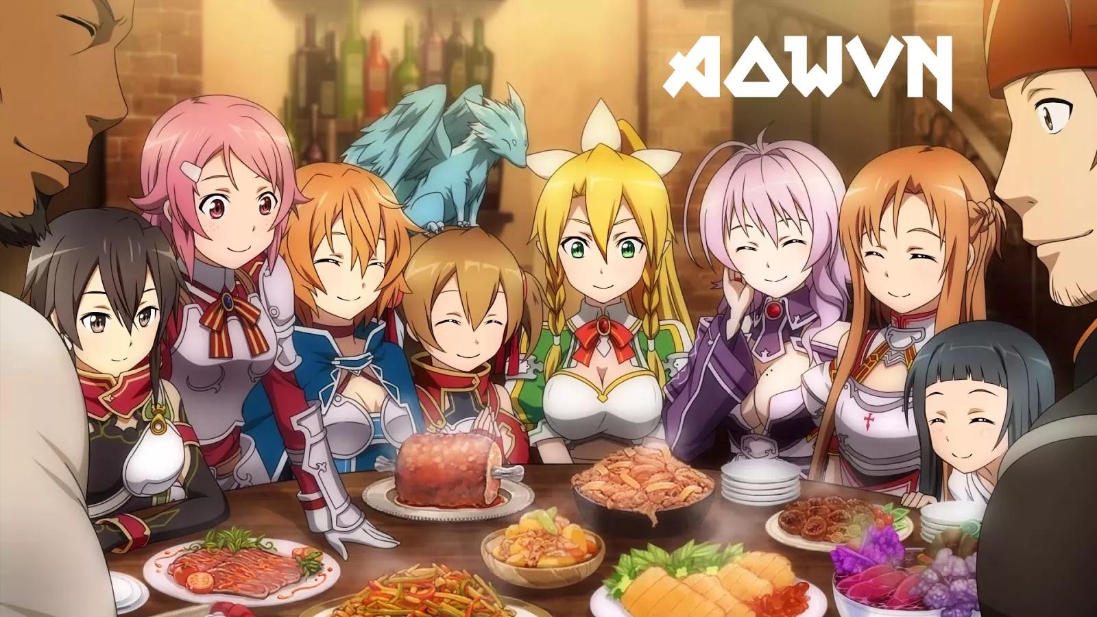 SAO2 AowVN.org min - [ Anime 3gp Mp4 ] Sword Art Online SS1 + SS2 BD + Movie Extra | Vietsub - Siêu Phẩm