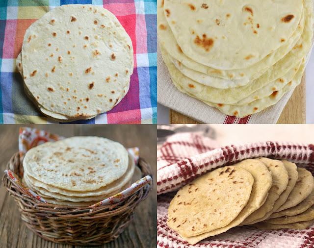 احلى طريقة لعمل خبز التورتيلا المكسيكي بسهولة في المنزل!