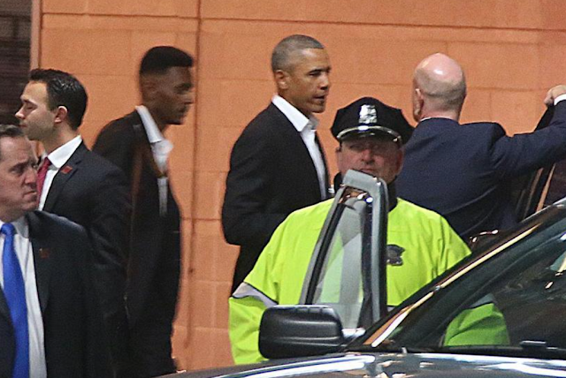 The first rule of seeing Barack Obama in Boston is don't talk about seeing Barack Obama in Boston