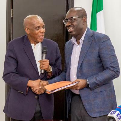 Obaseki and prof. Agbonlahor