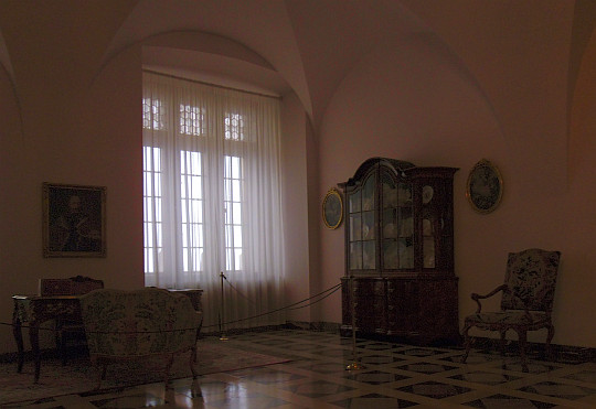 Zamek Królewski na Wawelu. Sala Saska.