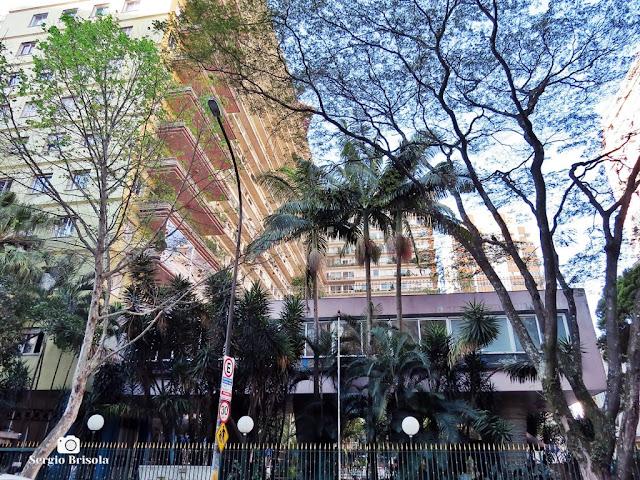 Vista de parte do Edifício Bretagne - Higienópolis - São Paulo