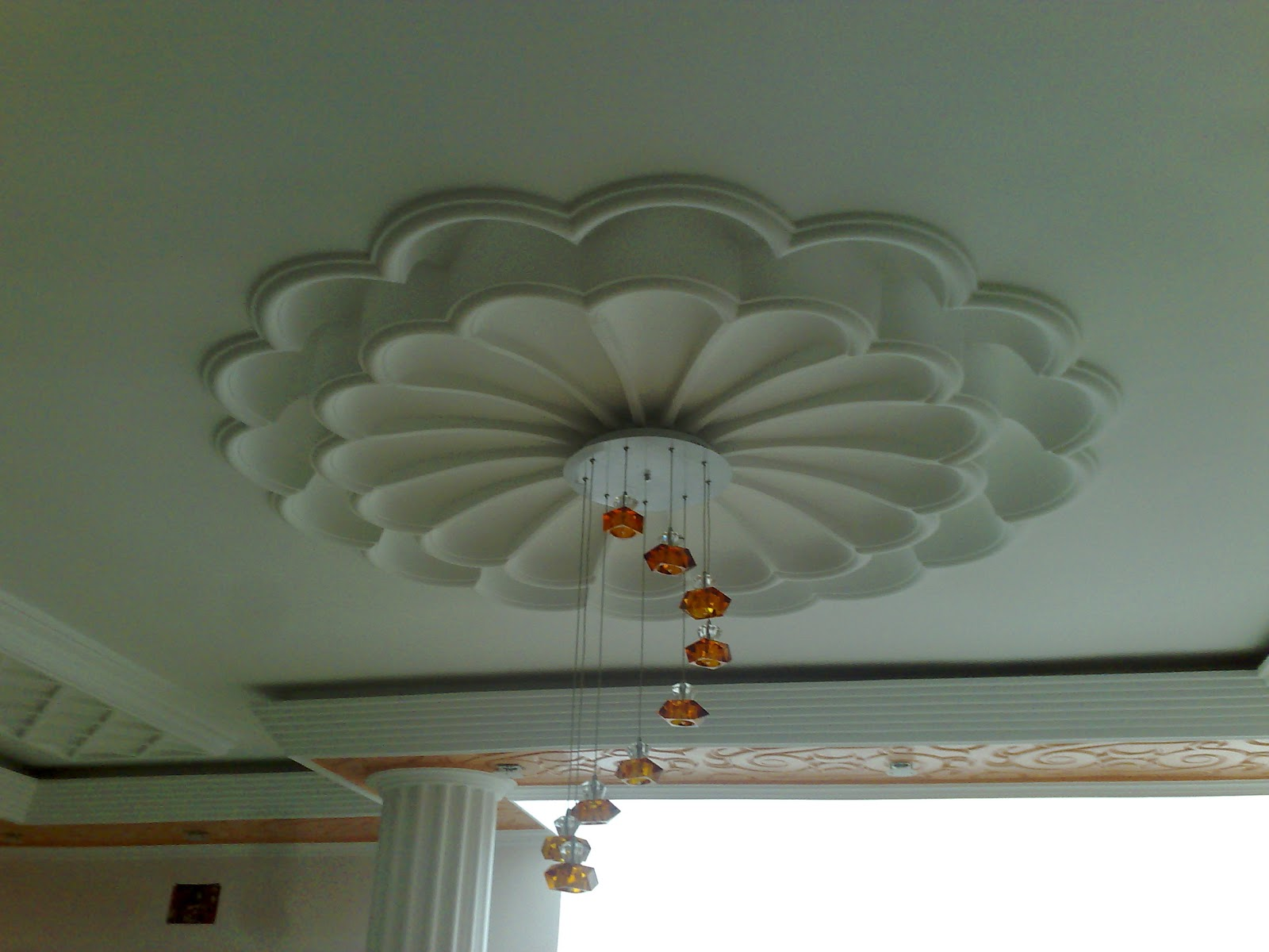 Decoration faux plafond platre marocain platre for Decoration de platre 2014