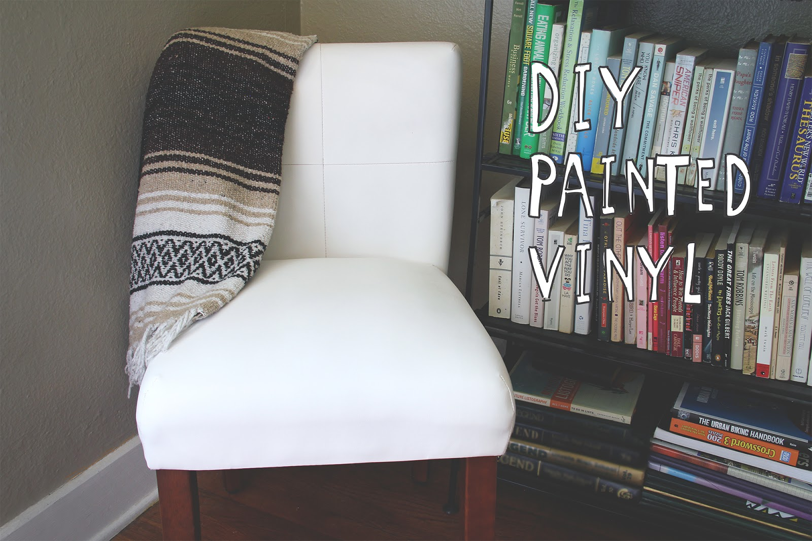 DIY Painted Vinyl Tutorial