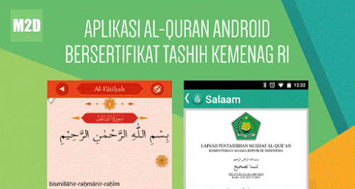 Aplikasi Al-Quran Android Indonesia yang benar, asli, dan murni.