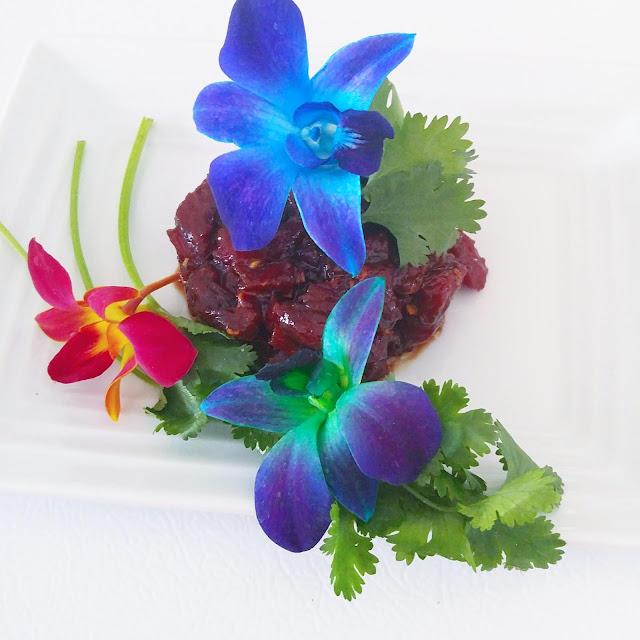 Tartare de Boeuf à l'asiatique et mention à Boucheries F. Ménard Longueuil - #RecettePaleo
