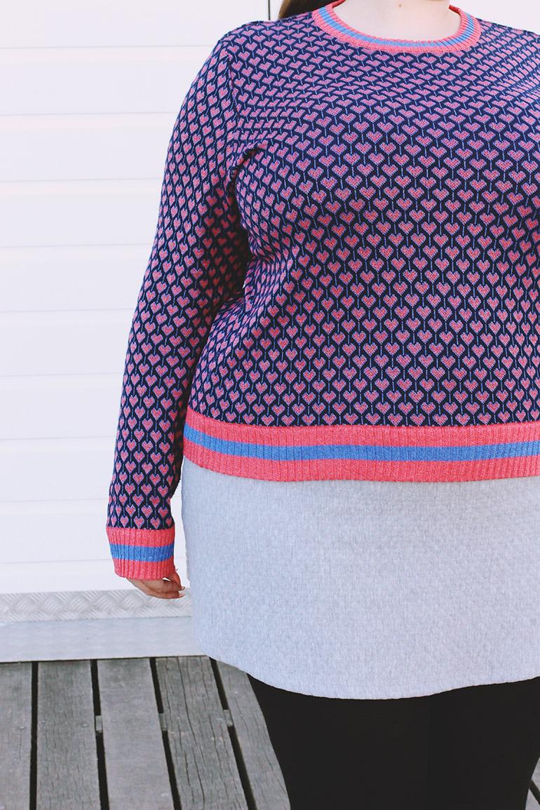 Marks & Spencer purple jumper