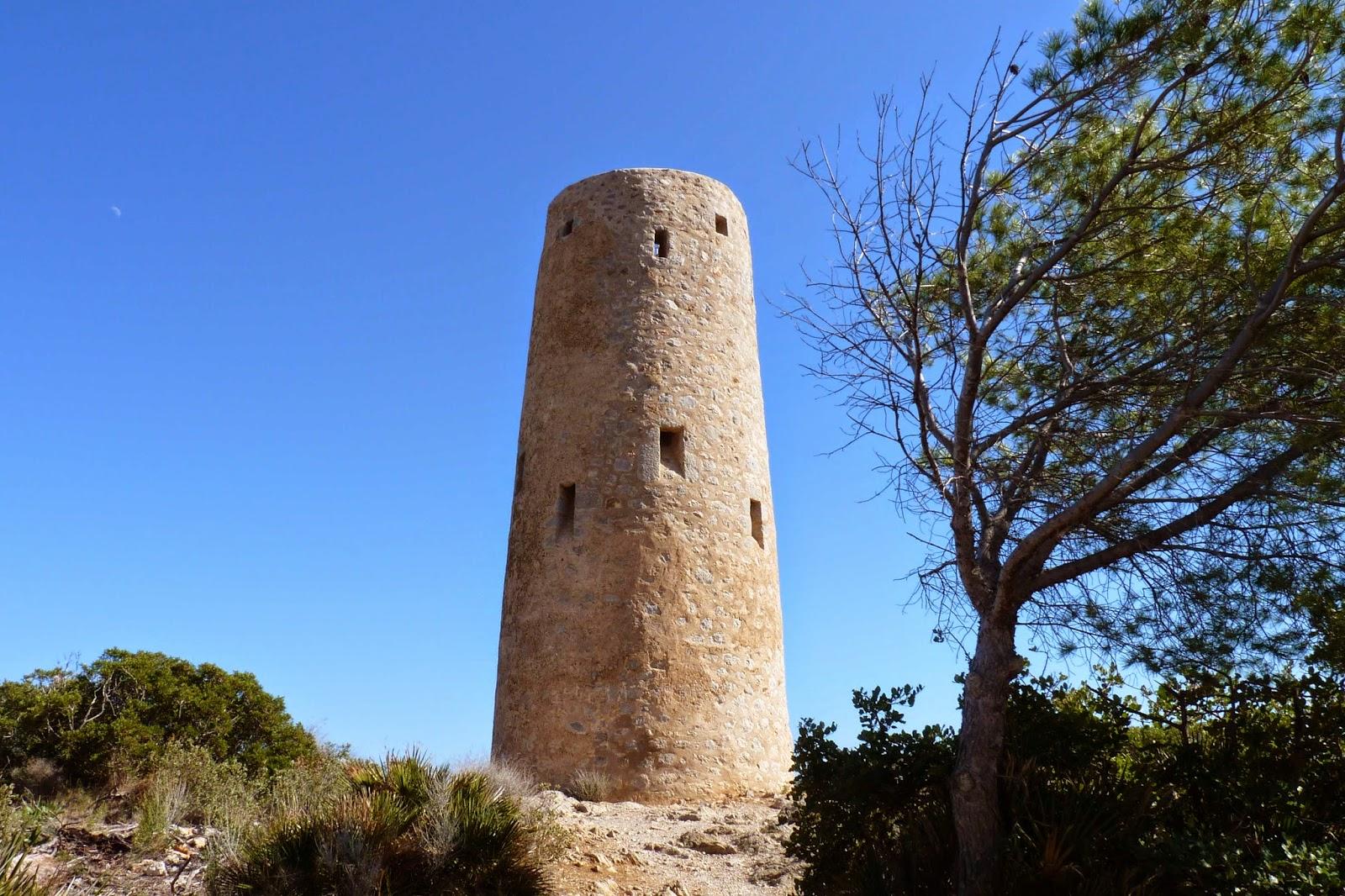 Torre de la Corda, la Vía Verde.