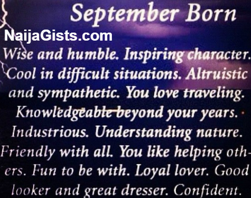 Born in September - Your Traits and Characteristics by Dr ...