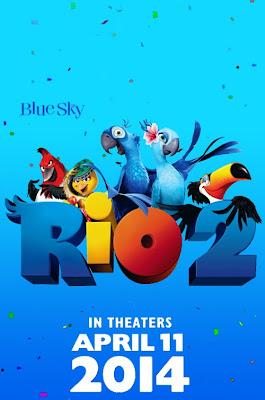 Rio 2 Teaser Poster