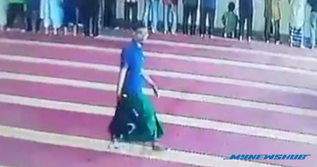 Video: Pura-Pura Jadi Jemaah Untuk Mencuri
