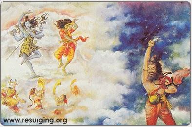 Bhrigu Muni Testing Lord Shiva