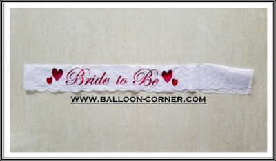 Selempang Renda BRIDE TO BE / Sash Renda BRIDE TO BE