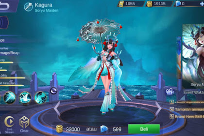 5 Skin Hero Mage Terbaik di game Mobile Legends Bulan Maret 2019