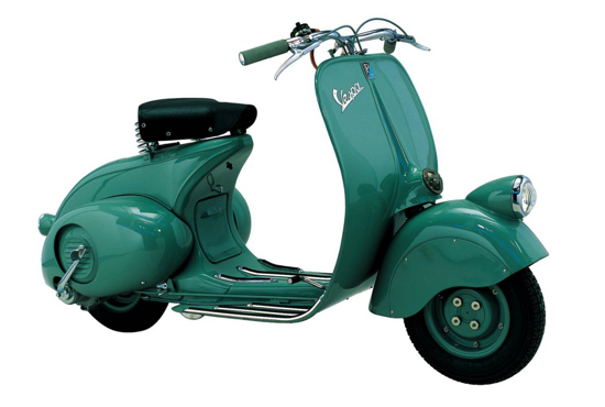 Vespa 98 - right