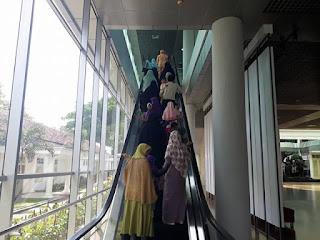 Menuju Galeri Kepresidenan Museum Kepresidenan RI Balai Kirti Kota Bogor