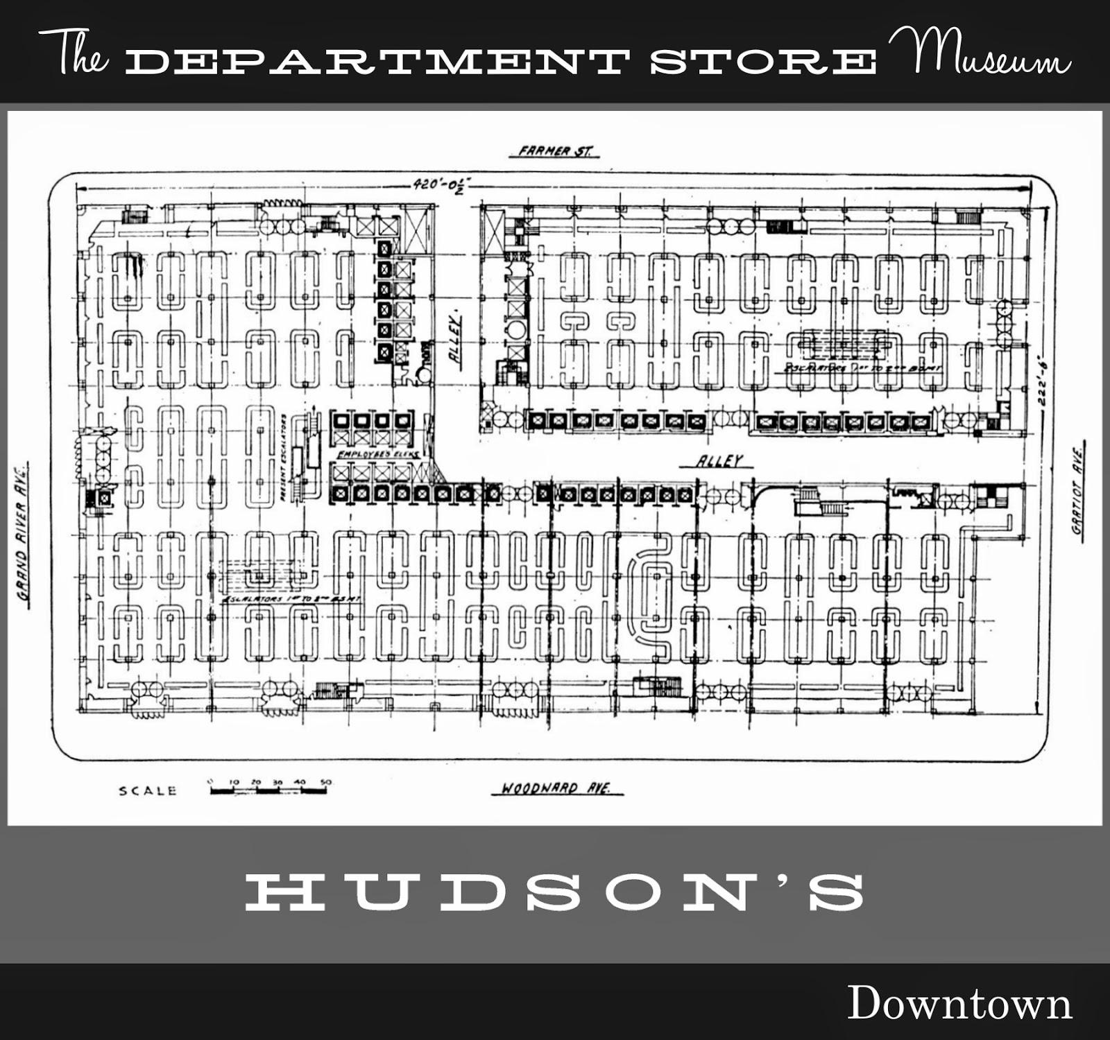The Department Store Museum The J L Hudson Co Detroit