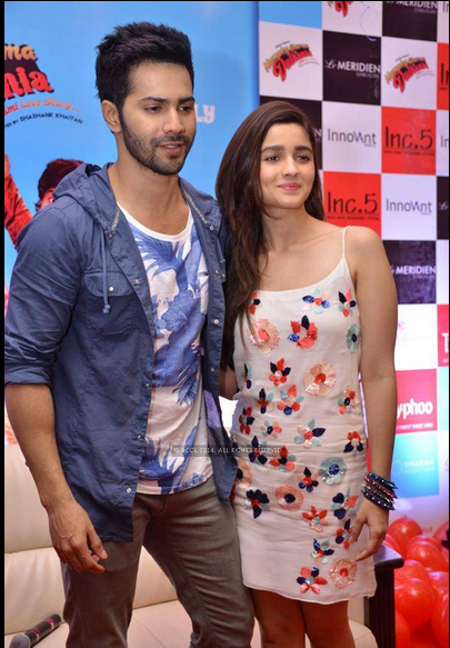 Alia Bhatt taking styling tips from Varun Dhawan's ...