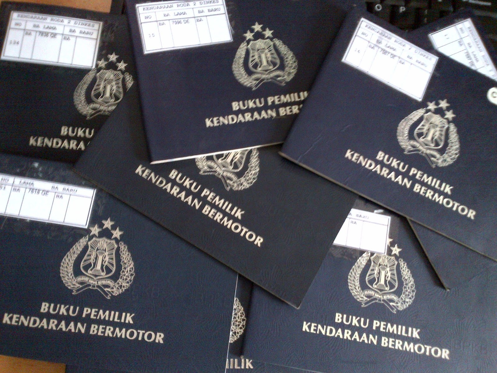 Samsat Jakarta Online: KETENTUAN BALIK NAMA, STNK/BPKB