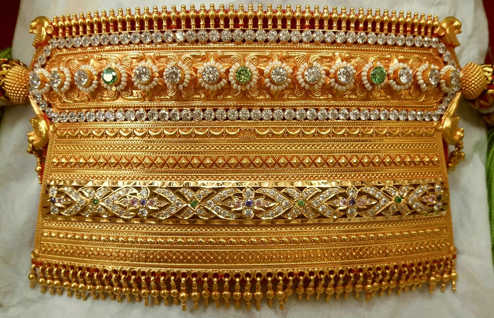 Rajasthani Aad Necklaces Sudhakar Gold Works