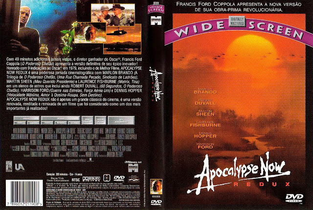 Capa DVD Apocalypse Now Redux