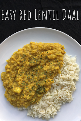 Easy Red Lentil Daal