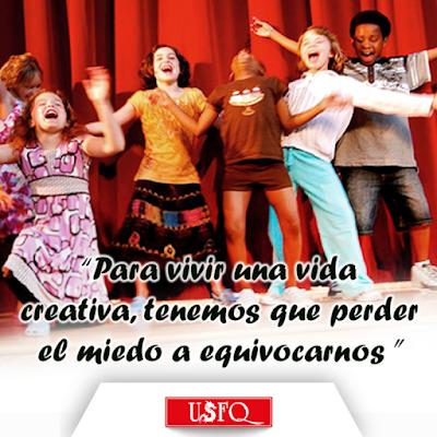 IDEA USFQ invita al taller: Los 5 hábitos del docente creativo, sábado 21 de mayo, Teatro Casa Blanca