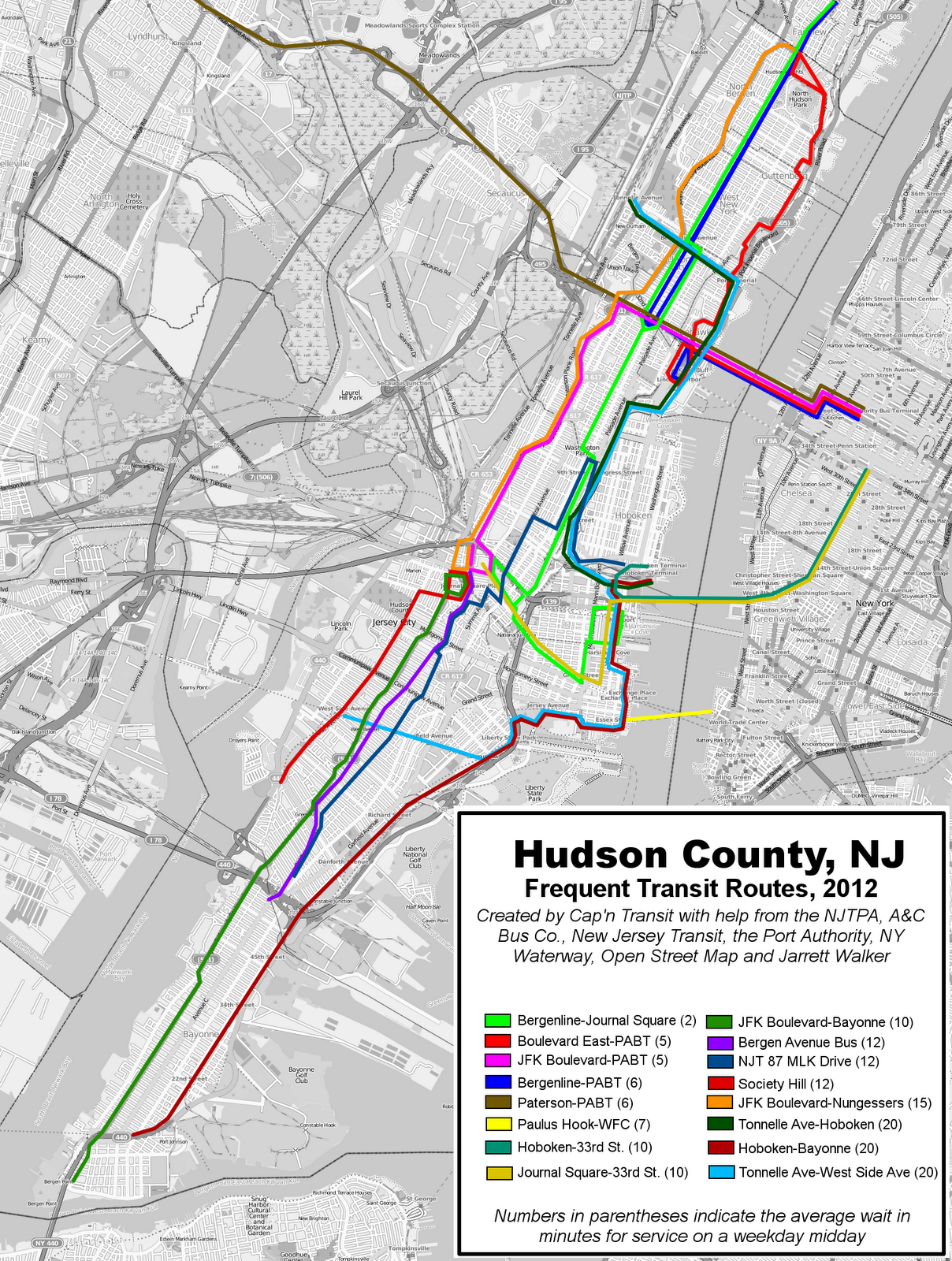 Nj Transit Routes
