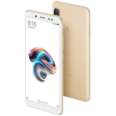 Xiaomi Redmi Note 5 dorado