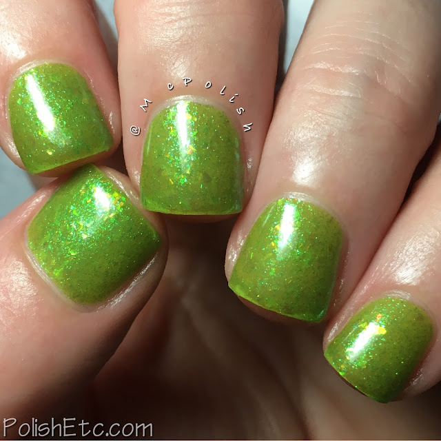 Ever After Polish - Flake It Up Collection - McPolish - Limearita