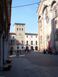The Piazza del Duomo in Severgnini's home town of Crema in Lombardy